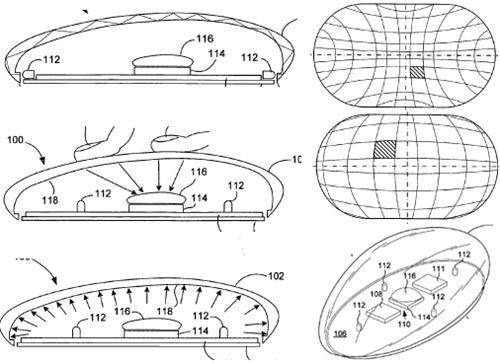 Apple patent filing for multi-touch mouse