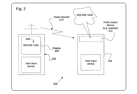 Apple patent for multimedia transfer