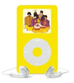 Beatles Yellow Submarine iPod