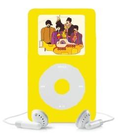 Beatles Yellow Submarine iPod
