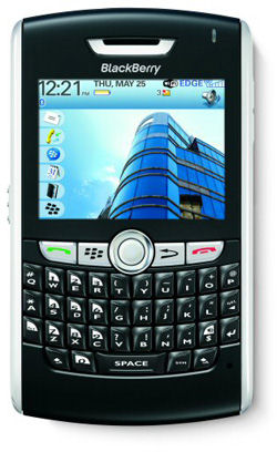 BlackBerry 8820 dual mode with WiFi smartphone launched by RIM