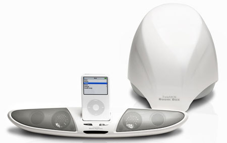 TwinMOS BooM1 ipod speaker dock