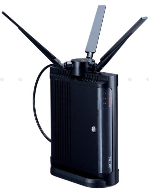 Buffalo NFINITI Giga draft-N router WZR-AMPG300NH