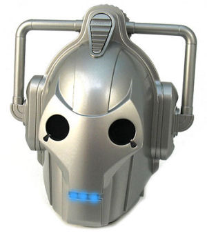 Cyberman shower radio from Dr. Who has AM and FM
