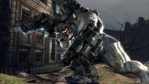 Gears of War for PC with Brumak