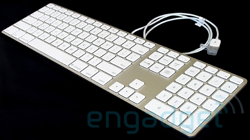 sneak peak at what might be the new iMac Keyboard