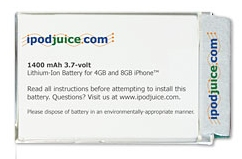 iPhone replacement battery from iPodjuice