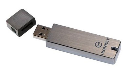 IronKey flash drive