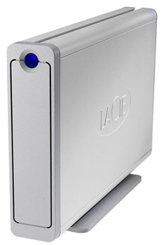 LaCie debuts 2TB triple interface external HDD