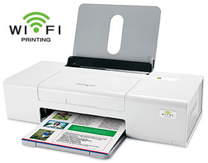 Lexmark z1420 wireless color printer