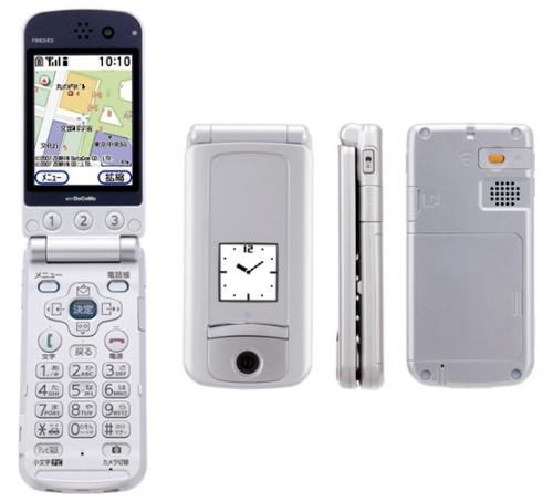 RakuRaku mobile phone from NT Docomo targets elderly, senile