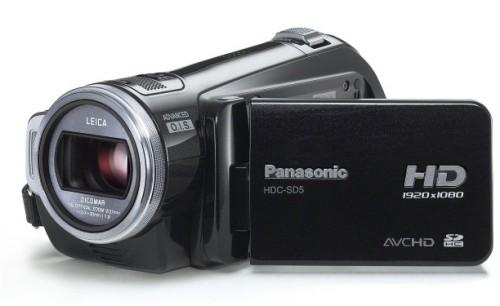 Panasonic HDC-SD5 high definition camcorder
