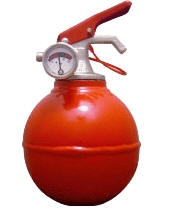Pinqy fire extinguisher
