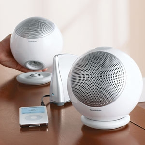 Podz wireless rechargeable speakers
