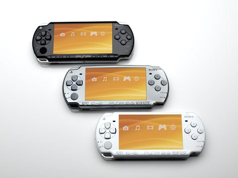 PSP Slimmer and Lighter from Sony