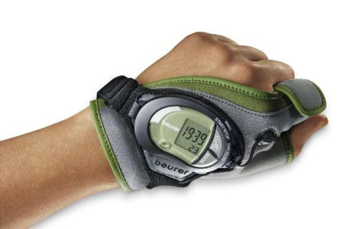 Pulse monitor glove from Beurer