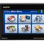 Sanyo NVM-4070 GPS feature laden