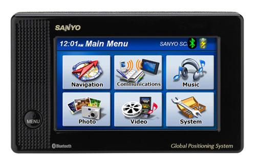 Sanyo Easy Street NVM-4070