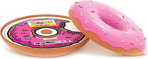 Simpsons Limited Edition Soundtrack in a donut case