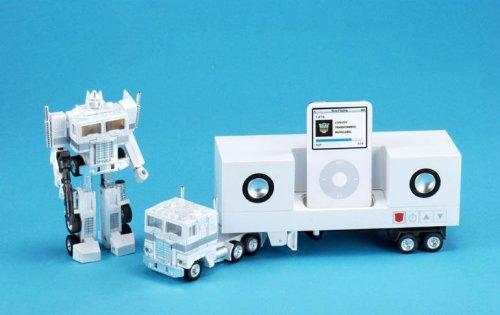 Optimus Prime Transformer iPod Dock