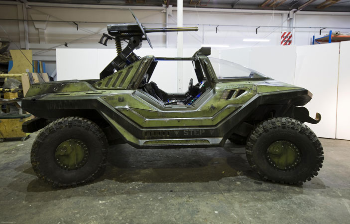 real Halo Warthog