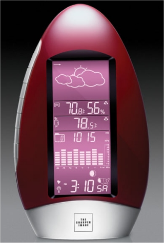 Waterdrop weather station from sharper image