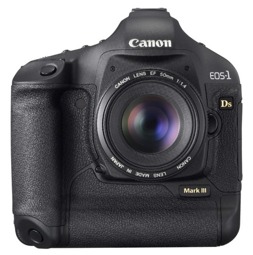 Canon EOS-1Ds Mark III with 21.1 megapixel CMOS sensor