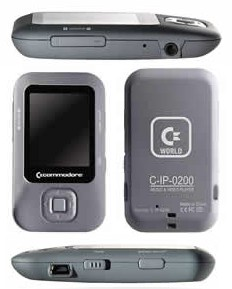 Commodore Gravel C200 medial player