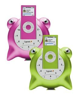 Groovetoons alarm clock and speaker for your iPod Nano from Cygnett