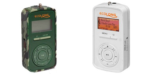 NHC Ecolong MP3 player plays many hours off of one AAA battery
