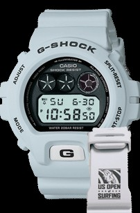 Casio Limited Edition US Open of Surfing branded G-Shock watch