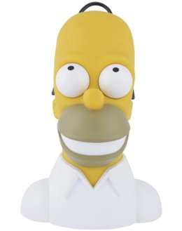 Homer Simpson head radio