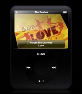 video iPod Nano mockup design