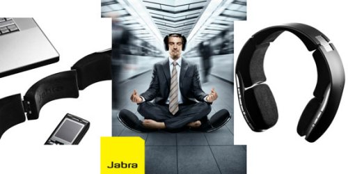 Jabra BT8030 Bluetooth headset and speakers combo