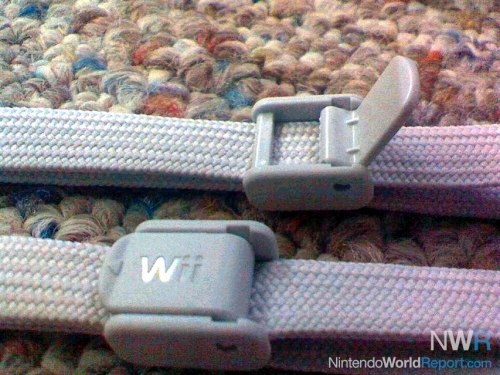 The Nintendo Wii remote wrist strap upgrade with a clip