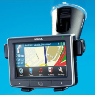 Nokia 500 Auto Navigation is Nokia's first dedicated personal in-car navigation GPS system