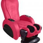 The Rave massage chair: a party for your back