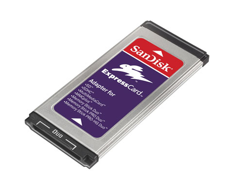 SanDisk Multi Card ExpressCard Adapter