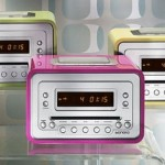 Sonoro Cubo stylish and colorful music system