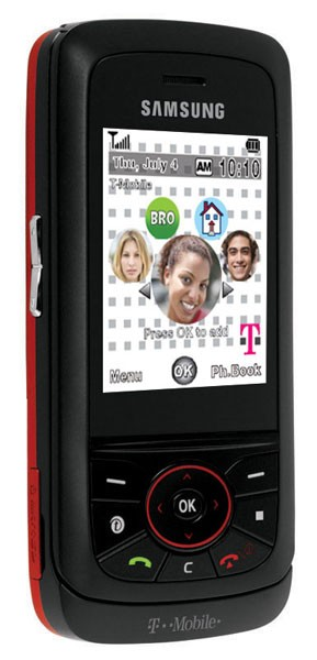 Samsung Blast SGH-Tt29) slider mobile phone from T-Mobile