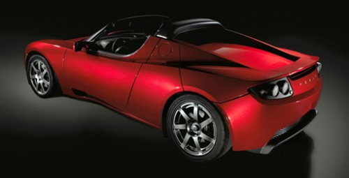 Tesla Roadster is all electric and should be hitting the streets by the end of the year