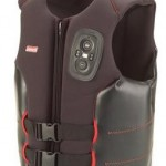 Life vest with built-in two-way radio