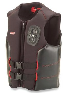Life vest with built-in two way radio