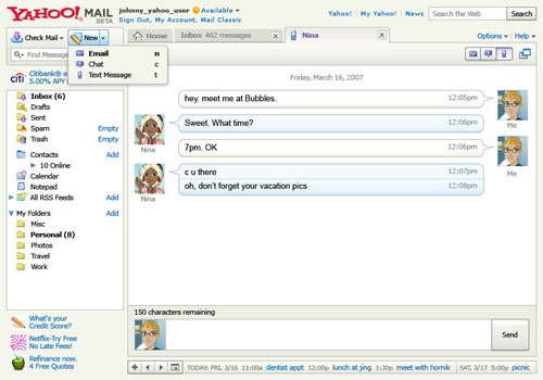 Yahoo releases new version of its Yahoo Mail