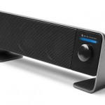 Altec Lansing puts bar speaker below monitor