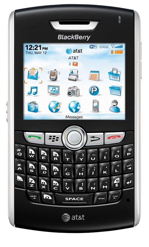 BlackBerry 8820 featuring Wi-Fi launched with AT&T
