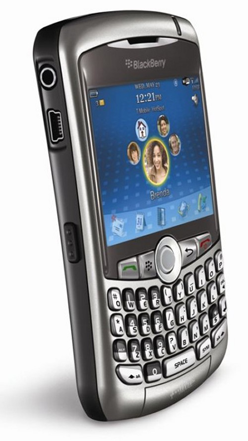 BlackBerry Curve 8320 from T-Mobiile with Wi-Fi to connect via UMA for fee-free voice connections