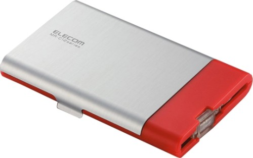 Elecom MR-C12 Flash memory card reader and storage case