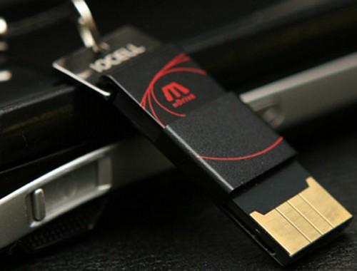 Waterproof Mdrive USB flash drive from Gidis