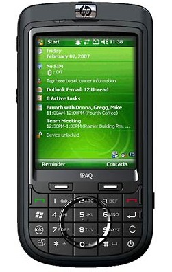 HP iPAQ 610 Business Navigator